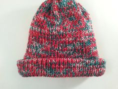 Christmas BeanieChristmas hatBrim by NoraTones on Etsy