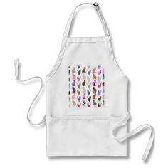 Girly Whimsical Cats aztec floral stripes pattern Aprons Pin Up Vintage, Shabby Chic Vintage, Vintage Gifts, Retro Gifts, Retro Vintage, Aprons Vintage, Vintage Easter, Flower Vintage, Vintage Holiday