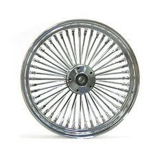 Harley Davidson 26x3.5 King Spoke Fat Spoke Front Wheel In Chrome Ultima 37-540 | eBay