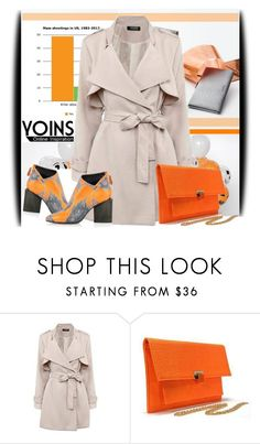 """""""Yoins 6"""" by amerlinakasumovic ❤ liked on Polyvore featuring Calvin Klein and Kim Kwang"""