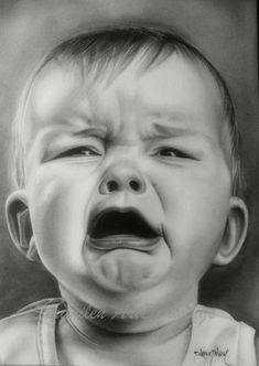 realistic drawings - female faces - drawing faces - children art