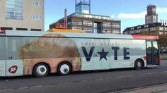 Donald Trump bus Commercial in Copenhagen Denmark. - YouTube