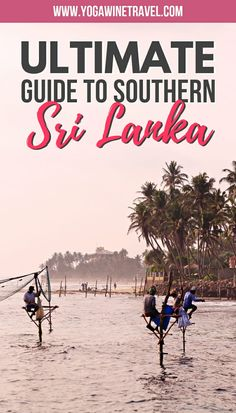 Incredibly Incredbly The southern coast of Sri Lanka is one of the best kept secrets in Asia, though . Travel Guides, Travel Tips, Travel Goals, Travel Photos, Beach Pink, Tropical Beaches, Down South, Asia Travel, Wanderlust Travel
