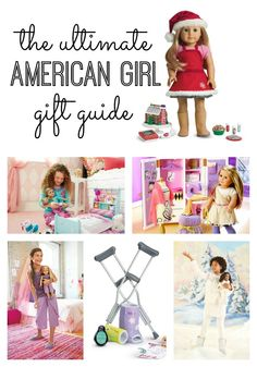 The ultimate American Girl Doll Gift Guide. Thinking about starting an American Girl doll tradition at your house? Or looking to add to your collection? I'm sharing my top picks for the holidays.