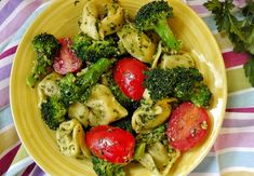 Tortellini, Cheddar, Pesto, Vegetables, Food, Cheddar Cheese, Hoods, Vegetable Recipes, Meals