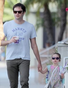 Bill Hader was spotted with his daughter Hannah out and about in Santa Monica, CA on Tuesday (Oct. I Still Love Him, My Love, Bill Harder, Tyler Young, I Need A Boyfriend, He Makes Me Happy, John Mulaney, I Have A Crush, Saturday Night Live