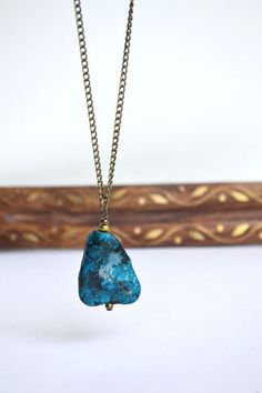 Rough Turquoise Necklace