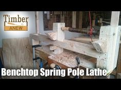 Portable Benchtop Spring Pole Lathe: 7 Steps (with Pictures)
