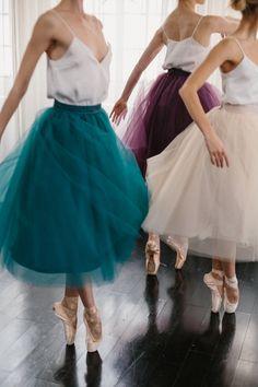 Alexandra Grecco - Gretta Tulle Skirt / 30 in. #Ballet_beautie #sur_les_pointes Ballet_beautie, sur les pointes !