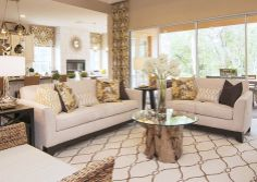 i love this neutral living room