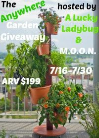 """My Garden Post is """"A Vertical Growing System for Herbs, Vegetables, Flowers, Fruit and Tropical Plants for urban gardeners with limited space."""""""