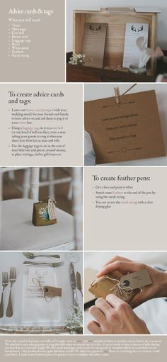 KATE DIY luggage tags Beautiful And Simple DIY Projects.