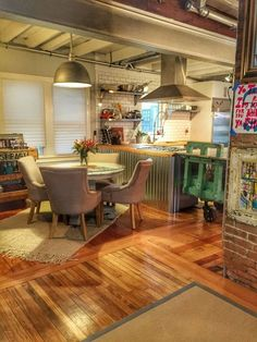 """Emily & Erica's Home With a """"Warm Industrial Cottage Look"""" — House Call"""