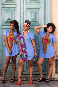 Beautiful Ankara Short Gown in 2019 African Fashion African Fashion Ankara, African Inspired Fashion, Latest African Fashion Dresses, African Print Dresses, African Print Fashion, Africa Fashion, African Dress, African Style Clothing, African Blouses