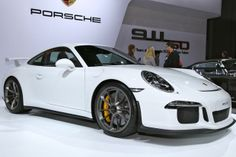 The new 2014 #Porsche 911 GT3 makes its American debut at the 2013 New York Auto Show. #NYIAS