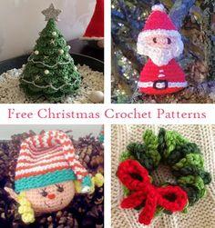 Let's Play Crochet!: Free Christmas Crochet Patterns.  FREE PATTERNS 5/14.