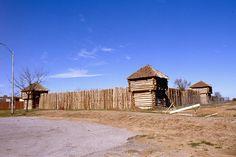 Lawton, Oklahoma Stockade - Great Plains Museum 1983 by duggar11, via Flickr Lawton Oklahoma, Oklahoma Usa, Travel Oklahoma, Kansas, Castle Floor Plan, Places Ive Been, Places To Visit, Wichita Mountains, Great Lakes Region