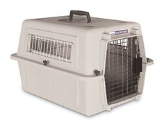 Petmate Ultra Vari Kennel For Pets up to 15 Pounds Bleached Linen >>> Check out the image by visiting the link.