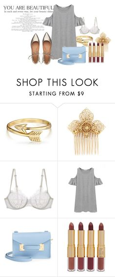 """For Lady"" by valeria-papina on Polyvore featuring мода, Bling Jewelry, Miriam Haskell, La Perla, Chicnova Fashion, Sophie Hulme, tarte и Sigerson Morrison"