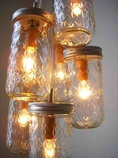pendant jar light