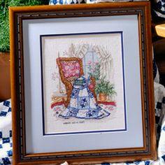Leisure Arts - Dove in the Window Cross Stitch Pattern ePattern, $4.99 (http://www.leisurearts.com/products/dove-in-the-window-cross-stitch-pattern-digital-download.html)