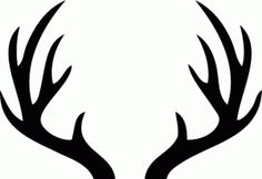 graphic about Printable Deer Antlers known as 19 Least complicated Antlers photographs inside 2017 Fonts, Stationery retail outlet