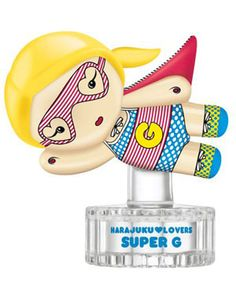 Super G Harajuku Lovers perfume - a new fragrance for women 2011