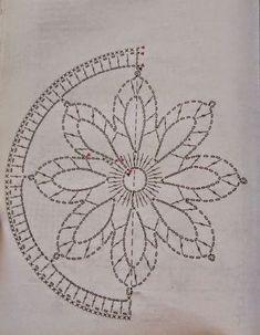 Mandala patron We are want to say thanks if you like to sh - Her Crochet Crochet Stars, Crochet Snowflakes, Crochet Round, Thread Crochet, Motif Mandala Crochet, Crochet Doilies, Crochet Flowers, Crochet Lace, Filet Crochet