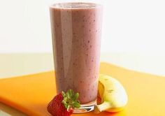 World's Best Smoothie   1 cup plain nonfat   yogurt  1 banana  1/2 cup orange juice  6 frozen strawberries  Blend ingredients    Supplement for breakfast or an energizing snack.