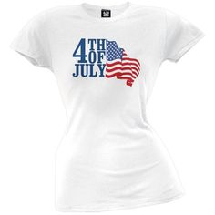 046168a74adc 4th Of July Juniors T-Shirt. Old GloryT Shirts For WomenAmerican FlagTops4th  ...