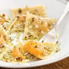 Make Squash Ravioli With Sage and Hazelnut Brown Butter Sauce