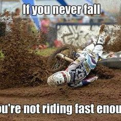 We give you the best service and prices on motorcycle helmets, jackets, gear, parts and accessories. Dirtbike Memes, Motocross Quotes, Dirt Bike Quotes, Motorcycle Memes, Motocross Girls, Biker Quotes, Motocross Videos, Motocross Bedroom, Quotes Quotes