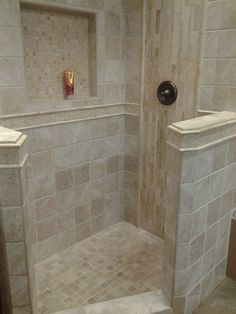Master Bathroom Walk In Shower Ideas - Dusche Master Bathroom Shower, Family Bathroom, Bathroom Showers, Bathroom Closet, Tiled Showers, Basement Bathroom, Large Bathrooms, Small Bathroom, Bathroom Ideas