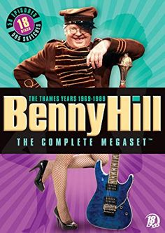 Shop Benny Hill: The Complete Megaset The Thames Years Discs] [DVD] at Best Buy. Find low everyday prices and buy online for delivery or in-store pick-up. Sci Fi Comedy, Comedy Tv Shows, Comedy Series, Comedy Film, Film Movie, Tv Series, Benny Hill, English Comedians, British Sitcoms
