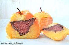Pomme farcie au boudin – recette pomme Tentation