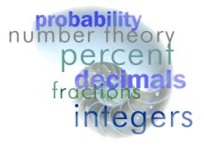 Concepts and Applications for Math from number theory through geometry. similar to online modules