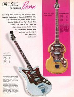EKO Basses -- Mid 1960's