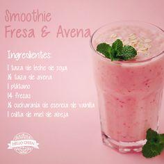 Empieza la semana llena de energía, vitaminas y nutrientes con este #smoothie…