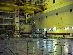 Reactor hall No. 1 of the Chernobyl Plant