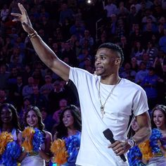 View photos for Westbrook Night at UCLA Russell Westbrook, Oklahoma City Thunder, Nba, Night, Concert, Sports, Mens Tops, View Photos, Hs Sports