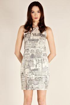 London City Scape Dress
