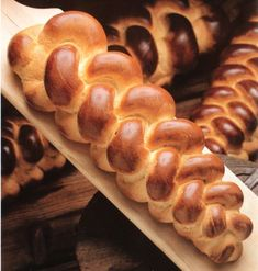swiss bread, the traditional Zopf