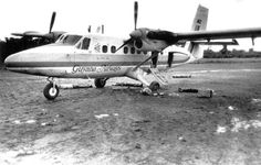 Congressmen Ryan, media members, and Jonestown defectors were trying to leave in this plane when they were gunned down by members of Jonestown. Jim Jones used this to convince the people in Jonestown to commit mass suicide/murder.