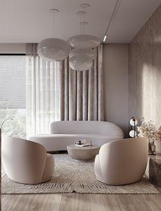 Apartment Interior, Home Living Room, Interior Design Living Room, Living Room Designs, Living Room Decor, Bedroom Decor, Glamour Living Room, Modern Minimalist Living Room, Minimalist Interior