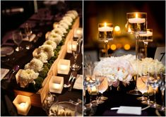 Wedding Reception Ideas: The Magic of Candlelight - MODwedding