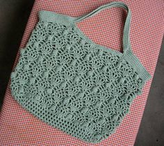 Ravelry:  Cute Oblong Bag : crochet pattern 玉編みバッグ