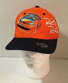 NASCAR Ricky Rudd SIGNED Orange Tide Ford Taurus Adjustable Baseball Cap