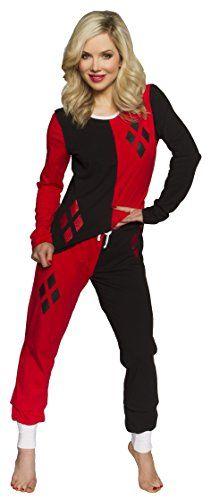 Harley Quinn Women's Superhero Pajama Set (Large, Black/Red) Harley Quinn http://www.amazon.com/dp/B00QOKVM1G/ref=cm_sw_r_pi_dp_7K97ub017VZYQ