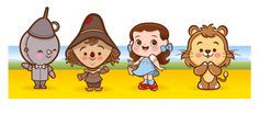 https://flic.kr/p/7Zyb6w | Kawaii Wizard of Oz | They're cute ad they're off to see the Wizard!
