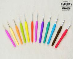 Eu piro na batatinha com essas agulhas!                  conheça as agulhas Círculo feitas especialmente para as suas mãos aqui!